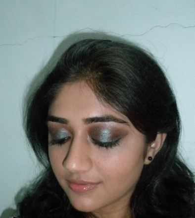 mac pigment blue brown review