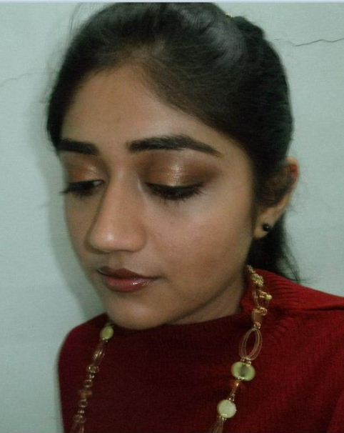 eye makeup for brown eyes and hair. METALLIC EYE MAKEUP LOOK. EYES