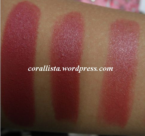 pink lipstick kiss. #39;My pink lipsticks#39;- Swatches