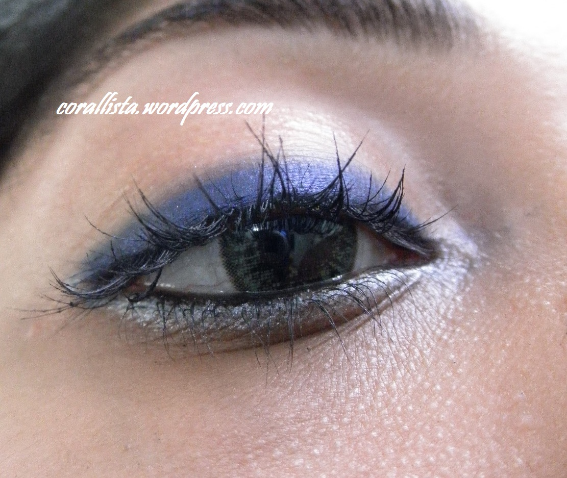 Navy Blue Silver And Pink Fotd Makeup Breakdown Corallista