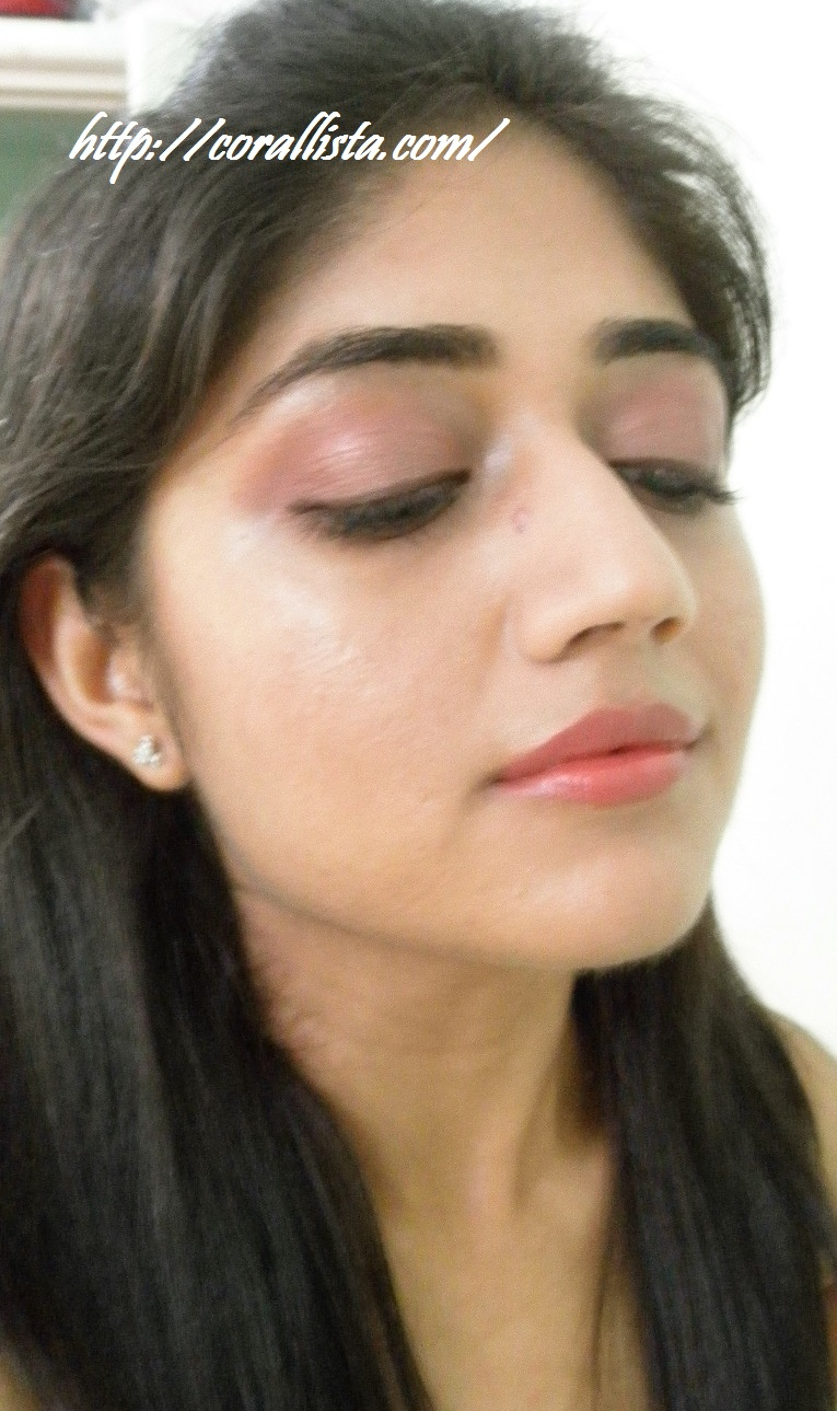 Mac Cranberry Eyeshadow Review Swatch And Demo: Eye Makeup With MAC Sable And MAC CRANBERRY