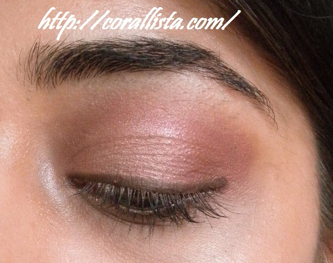 Everyday Pink Brown Eye Makeup Look With Mac Sable Mac Cranberry
