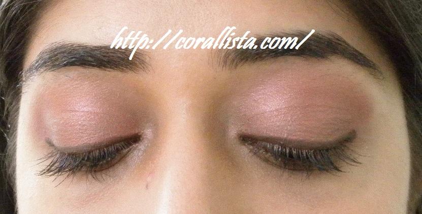 Everyday Pink Brown Eye Makeup Look With Mac Sable Mac Cranberry