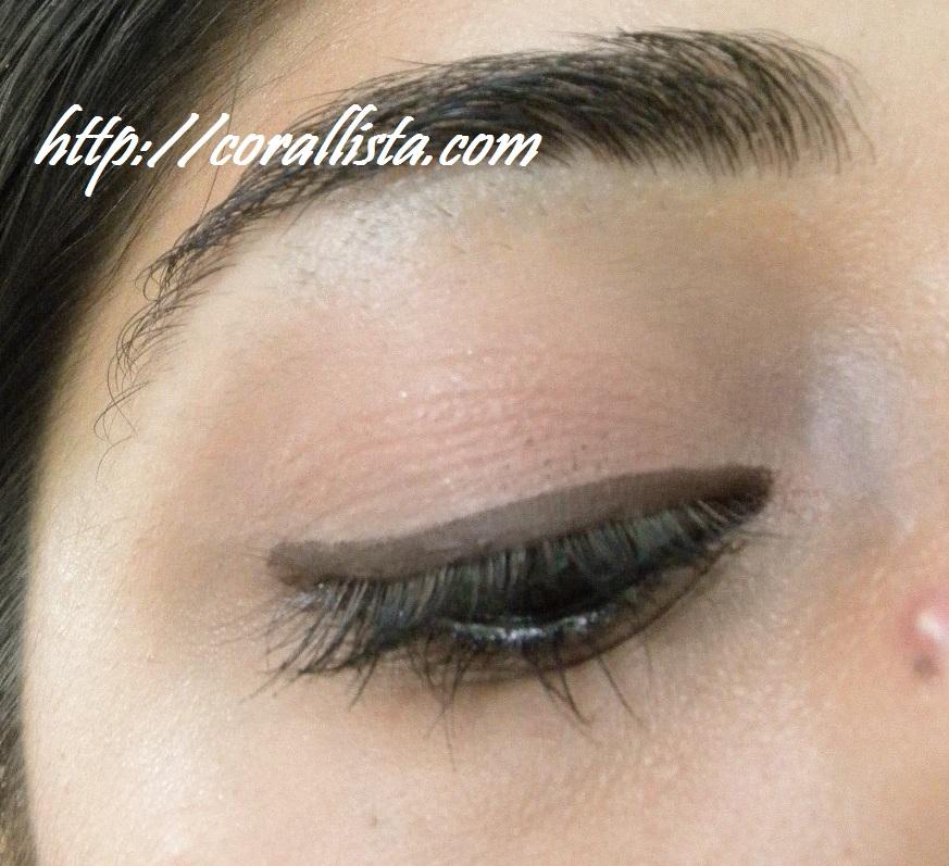 Simple Neutral Eye Makeup Corallista Makeup Blog